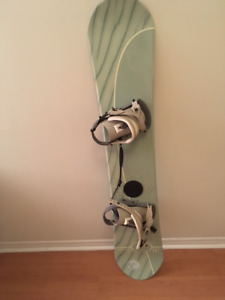Vision 147 Snowboard, Bindings and Boots for Sale!