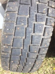 18 inch Studded Cooper Tires on Rims