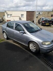 Vauxhall Astra 1.4 enjoy 2005 silver/grey
