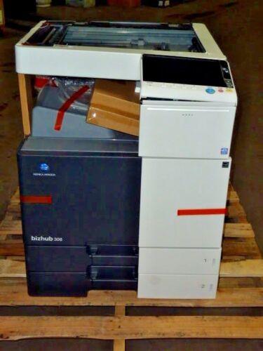 Konica Minolta Bizhub 308 Copier Printer Scanner Damaged New For Parts Machine