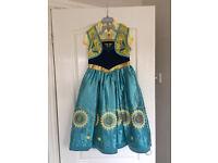 Frozen Fever Disney Dresses Age 7 - 8