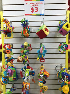 (124B) Fisher-Price Rattles & Teethers – starting from ONLY 1$