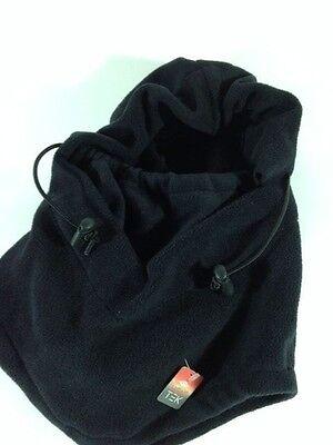 Tek Gear Hood 4 in 1 Heat Tek Microfleece Hat Neck Warmer One Size MSRP $18.99  Heatgear Hood