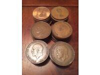 Pre decimal coins