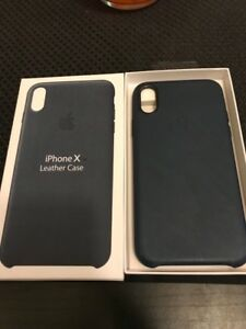 IPHONE X LEATHER CASES