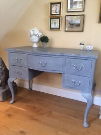Vintage dressing table / desk / sideboard / console table