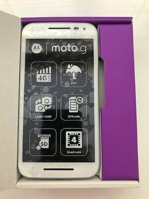 *Brand New* Motorola Moto G XT1541 8GB *WHITE*- (3rd Gen) (Unlocked) Smartphone