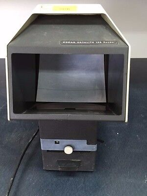 Vintage Kodak Ektalite120 Microfiche Reader For Partsnot Working Properly