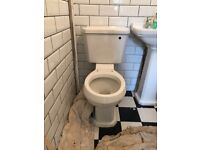 Toilet and Cistern - new