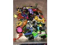 BAG OF 40 USED BEN 10 FIGURES / TOYS £15 - YOUR WELCOME TO COME VIEW FIRST