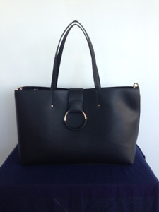 Zara new black tote bag
