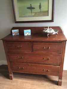 Antique Dresser Sideboard chest of Drawers, solid wood