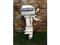 Johnson 5.0 hp outboard engine
