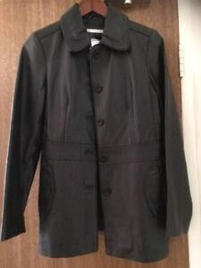 New with Tags Womens Size 10 Black Leather jacket (long) Lane Cove Lane Cove Area Preview