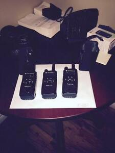 2 Motorola Portable Radios
