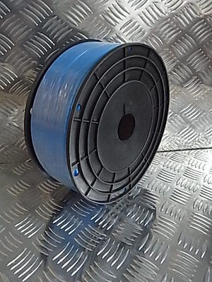 4 Pneumatische Rollen (6x4,5 mm Pneumatik PE Schlauch blau  160 Meter Rolle,  ETPETUBEB6x4,5-R)