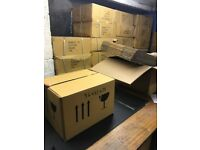 HEAVY DUTY CARDBOARD BOXES - JOB LOT