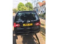 Volkswagen Sharan Black 1.9Tdi HAS 12 MONTH PCO LICENCE