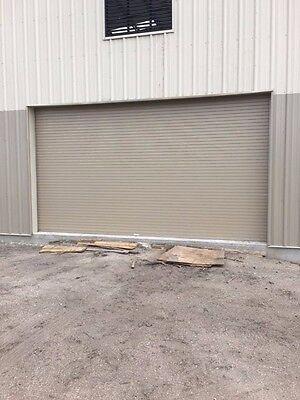 Insulated Roll Up Overhead Garage Door 12 Feet Wide X 12 Feet High Rv 7.6