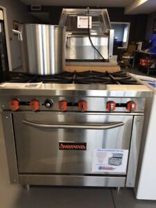 NG 36 inch Stainless Steel Range Combo