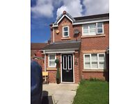 Three Bedroom Unfurnished New build town house, on Mystery Close, just off Wellington Road.