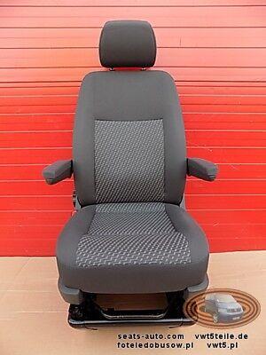 Seat VW T5 GP front passenger TASAMO with base adjustments armrests