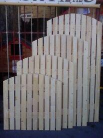 5x3 Brand New Wooden Garden Gate