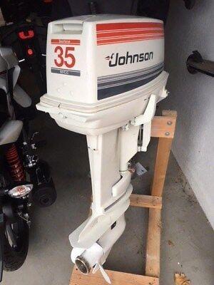 Außenborder Johnson 35 PS Normalschaftgebraucht