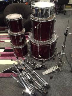 Tama RockStar Drum Kit 6 piece Kit & Stands! Wantirna South Knox Area Preview