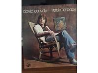 Vinyl LP Record David Cassidy Rock Me Baby