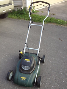 Yard Works Electric Lawnmower - Almost new