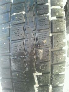 """Pair of 245/75/16"""" Studded,Winter tires"""