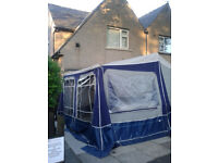 Camplet Concorde 2009 Trailer Tent has Additional Bedroom Annexe plus extras...