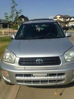 Reliable 2003 Toyota Rav 4 SUV for SALE!