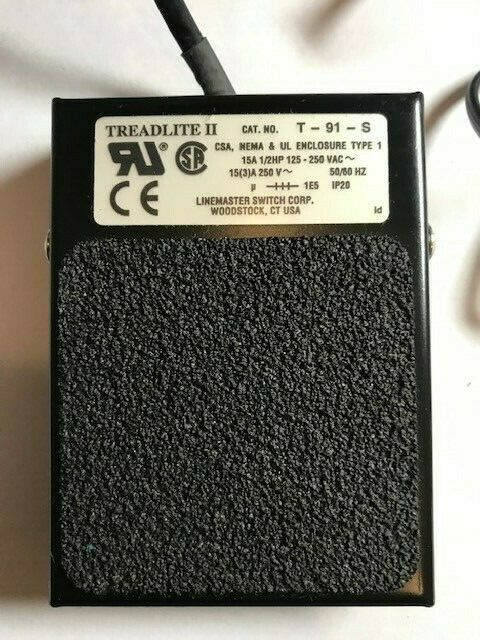 Sonomed Pacscan 300-P Pachymeter Foot Pedal only Used