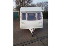 Avondale Mayfair 380/ 2 Berth caravan with awning