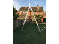 Werner 12 Tread mint condition ladder, only used once, was £142 new, 25 yr warranty