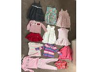 3-4 bundle (Ralph Lauren, Gap, JoJo Maman, Mayoral, Bora Bora) Swimsuit, dresses, skorts (13 items)