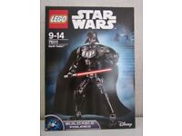 Lego Darth Vader figure 75111 - Brand New sealed