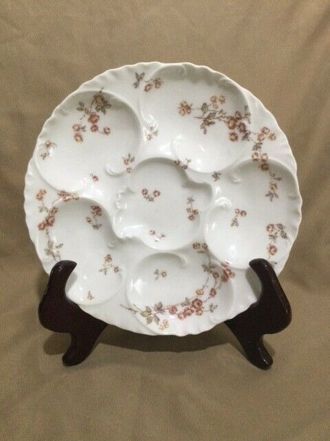 Antique Haviland & Co Oyster Plate - Excellent condition