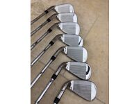 Callaway XR Steel Irons with Gold R300 SL Premium Shafts - Used only a few times