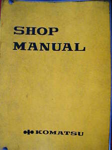 KOMATSU 6D170-1 SERIES DIESEL ENGINE WORKSHOP SERVICE MANUAL Dianella Stirling Area Preview