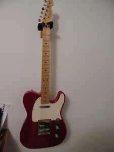 Fender Standard (MiM) Red Telecaster with Noiseless N3's