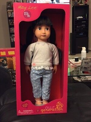 """Our Generation May Lee 18"""" Doll 2015 New!!!"""