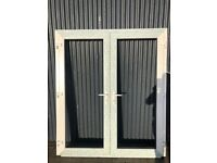 1600 X 2100 NEW DOUBLE FRENCH DOORS - GLASS INCL