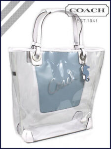 COACH CLEAR NORTH SOUTH TOTE/BAG