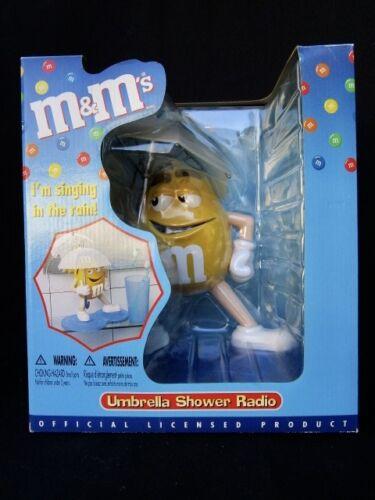 M & Ms  Umbrella Shower Radio  -  Wonderful  -   In Box  -  Never Used