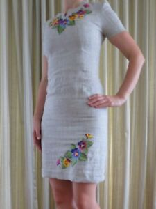 Absolutely Stunning NEW Dress with Ukrainian style embroidery