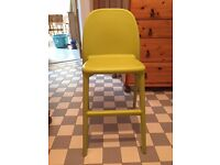 Ikea junior chair green