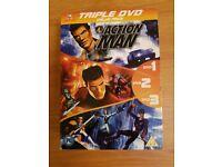 Action Man Triple DVD Boxset - 13 Episodes on 3 DVD's.